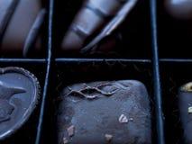 Het Suikergoedachtergrond van de chocoladetablet stock fotografie