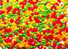 De achtergrond van het kleurensuikergoed stock foto
