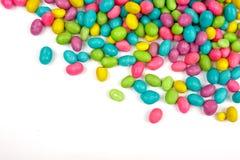 Het suikergoedbonen van de kleur Stock Afbeeldingen