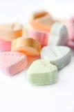 Het suikergoedharten van de valentijnskaart Royalty-vrije Stock Foto