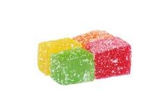 Het suikergoedkubussen van de gelei Royalty-vrije Stock Afbeelding