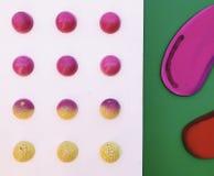 Het Suikergoedraad van de zomerkleuren royalty-vrije stock fotografie