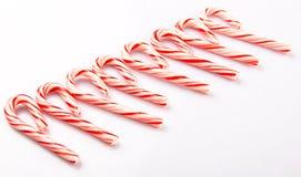 Het Suikergoedriet II van de Kerstmismunt Royalty-vrije Stock Afbeeldingen