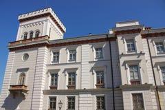 Het Sulkowski-Prinsenkasteel in bielsko-Biala Polen Royalty-vrije Stock Foto's