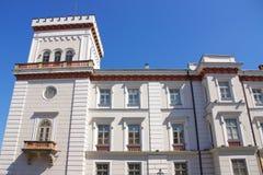 Het Sulkowski-Prinsenkasteel in bielsko-Biala Polen Royalty-vrije Stock Afbeelding