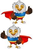 Het super Kale Karakter van Eagle - 2 royalty-vrije illustratie