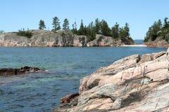 Het Superieure Provinciale Park van het meer stock foto's