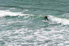 Het surfen - Recreatie en Sport Royalty-vrije Stock Foto