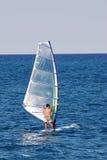 Het surfen van de wind Royalty-vrije Stock Afbeeldingen