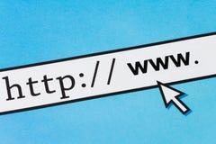 Het surfen van het Net stock fotografie