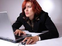 Het surfen van het net Stock Foto's
