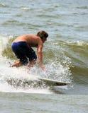 Het Surfen van Marzo van de klei stock fotografie