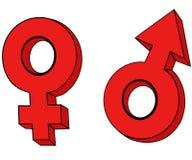 Het symbool. Stock Fotografie