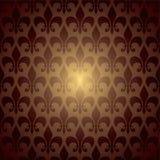 Het symbool herhaalt bruin vector illustratie