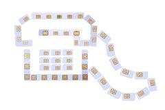 Het pictogram van de telefoon Royalty-vrije Stock Afbeeldingen