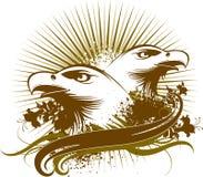 Het symbool van adelaars vector illustratie