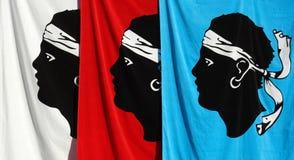 Het symbool van Corsica Stock Foto's