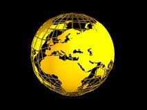 Het symbool van de aarde Stock Afbeelding