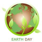 Het symbool van de aarde, embleembedrijf Royalty-vrije Stock Afbeeldingen