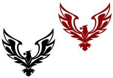 Het symbool van de adelaar Stock Foto's