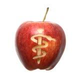 Het Symbool van de appel Stock Fotografie