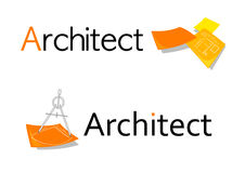 Het symbool van de architect royalty-vrije illustratie