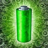 Het Symbool van de batterijtechnologie royalty-vrije illustratie