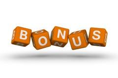 Het symbool van de bonus stock illustratie