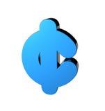 Het Symbool van de cent Royalty-vrije Stock Afbeelding