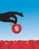 Het symbool van de dollar Royalty-vrije Stock Foto's