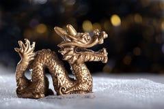 Het symbool van de draak van het jaar 2012 Stock Foto