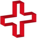 Het symbool van de eerste hulp Stock Afbeeldingen