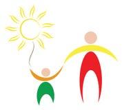 Het symbool van de familie Stock Afbeeldingen