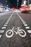 Het symbool van de fiets Stock Afbeeldingen