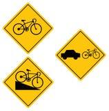 Het symbool van de fiets Stock Foto