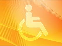 Het symbool van de handicap Royalty-vrije Stock Afbeeldingen