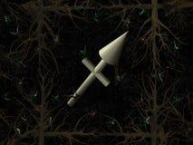 Het symbool van de horoscoop - sagittarius Stock Afbeeldingen