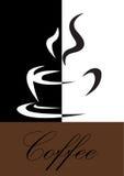 Het symbool van de koffie Stock Foto's