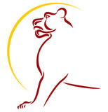 Het symbool van de leeuw Royalty-vrije Stock Foto