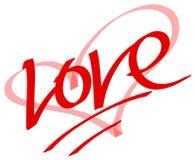Het symbool van de liefde Stock Foto