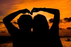 Het symbool van de liefde Royalty-vrije Stock Foto
