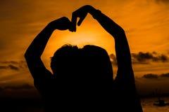 Het symbool van de liefde Royalty-vrije Stock Foto's
