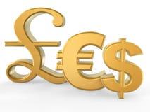 Het symbool van de munt vector illustratie