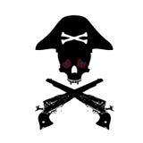 Het symbool van de piraat Royalty-vrije Stock Afbeeldingen