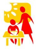 Het symbool van de school Royalty-vrije Stock Fotografie