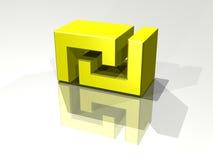 Het Symbool van de sjekel Stock Fotografie