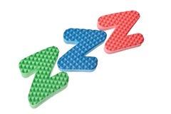 Het symbool van de slaap Stock Fotografie