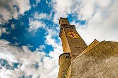 Het Symbool van de stadsitalië van Lightouselanterna Genua royalty-vrije stock foto