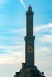 Het Symbool van de stadsitalië van Lightouselanterna Genua royalty-vrije stock afbeeldingen