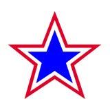 Het symbool van de ster Stock Afbeeldingen
